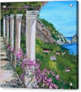 Villa San Michele In Anacapri Acrylic Print