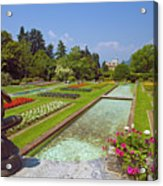 Villa Taranto Gardens,lake Maggiore,italy Acrylic Print
