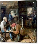 Village Barber-surgeon Acrylic Print
