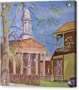 Village Hall- Montour Falls Acrylic Print