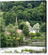 Village In England Acrylic Print