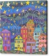 Village Lights Acrylic Print