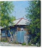 Village Line. Summer Acrylic Print