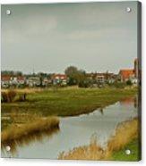 Village Of Kinderjik Netherlands Acrylic Print