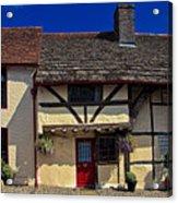 Village Tudors Acrylic Print