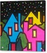 Villagescape Acrylic Print