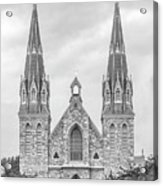 Villanova University St. Thomas Of Villanova Church Acrylic Print by University Icons
