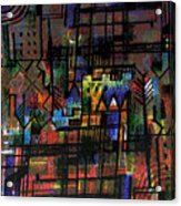 Ville Francaise Acrylic Print