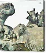 Vilsec Fountain Acrylic Print