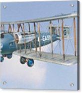 Vimy In Flight Acrylic Print