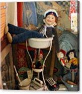Vina Cooke Dolls 62 Acrylic Print