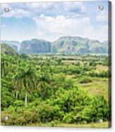 Vinales Valley Acrylic Print