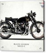 Vincent Black Shadow Acrylic Print