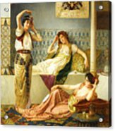 Vincent Stiepevich In The Harem Acrylic Print