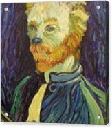 Vincent Van Gogh Cat    Acrylic Print