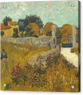 Vincent Van Gogh, Farmhouse In Provence Acrylic Print