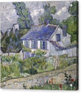 Vincent Van Gogh, Houses At Auvers Acrylic Print