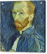 Vincent Van Gogh Self-portrait 1889 Acrylic Print