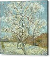 Vincent Van Gogh, The Pink Peach Tree Acrylic Print