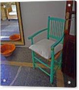 Vincent's Chair Acrylic Print