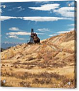 Vindicator Valley Mine Trail Acrylic Print