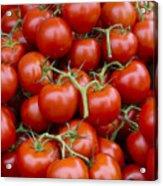 Vine Ripe Tomatos Acrylic Print by John Trax