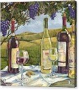 Vineyard Wine Tasting Acrylic Print