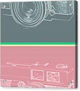 Vintage 35mm Film Camera Pop Art Totem Acrylic Print