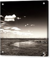 Vintage Barnegat Lighthouse Acrylic Print