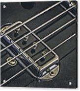 Vintage Bass Acrylic Print