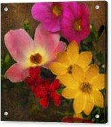 Vintage Bouquet Acrylic Print