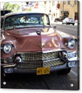 Vintage Cadillac. Luxury From The Past Acrylic Print