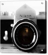 Vintage Camera C20m Acrylic Print
