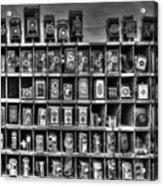 Vintage Camera Matrix Acrylic Print
