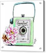 Vintage Camera Acrylic Print