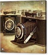 Vintage Cameras Acrylic Print