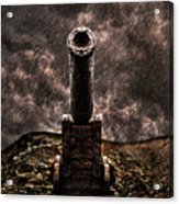 Vintage Cannon Acrylic Print