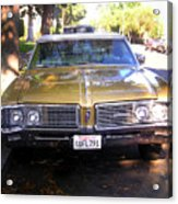 Vintage Car. Front View Acrylic Print