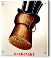 Vintage Champagne Acrylic Print