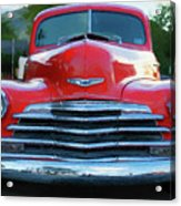 Vintage Chevy Pickup Truck Acrylic Print