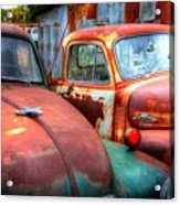 Vintage Chevy Trucks Acrylic Print