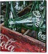 Vintage Coke Square Format Acrylic Print