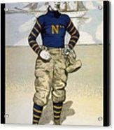 Vintage College Football Annapolis Acrylic Print