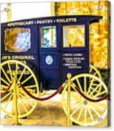 Vintage Delivery Wagon Acrylic Print