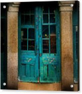 Vintage Doors Acrylic Print