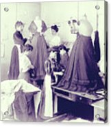 Vintage Dressmakers Acrylic Print