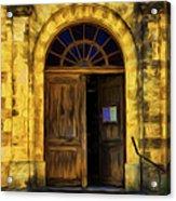 Vintage Entrance Acrylic Print
