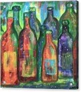Vintage Estate Wine Acrylic Print