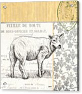 Vintage Farm 3 Acrylic Print