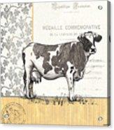 Vintage Farm 4 Acrylic Print by Debbie DeWitt